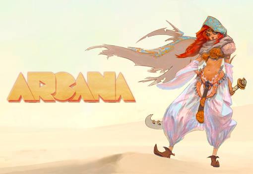 Arcana - Promo Poster