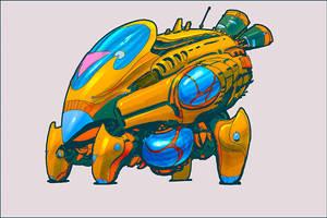 Adoptable - Auction - cyborg f.Lea - Closed