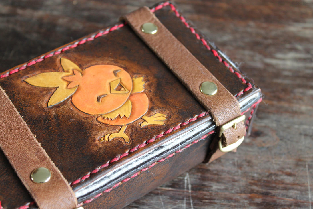 Leather box for my 3DS by wulvi