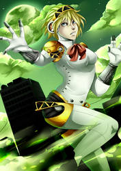 Persona 3- Dark Hour (Re-draw) by Mekuvi