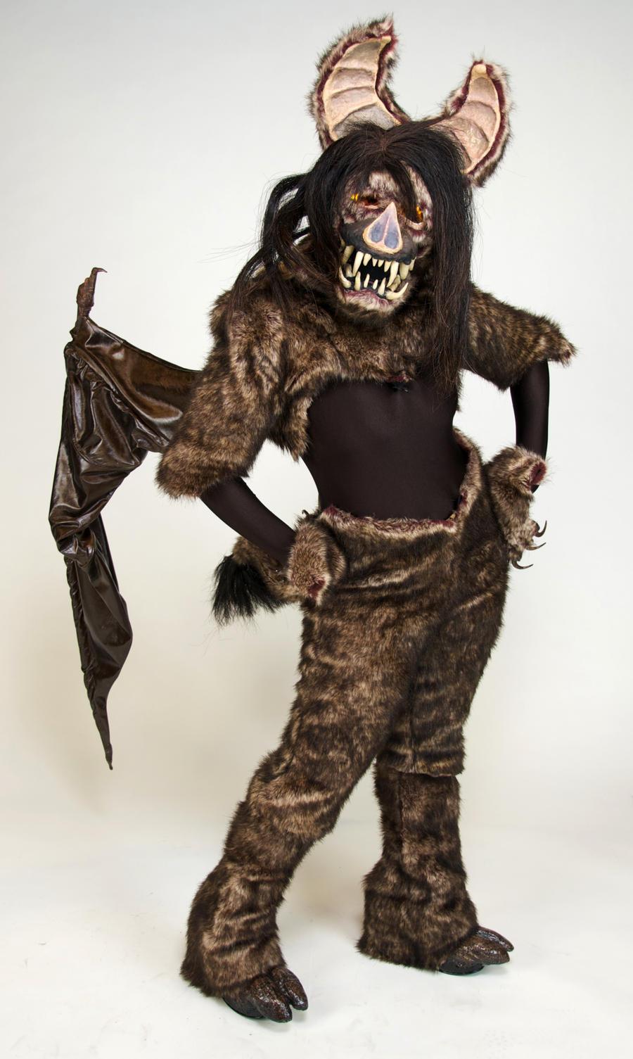 Cieca the Bat Demon: View 2 by MonicaMcClain