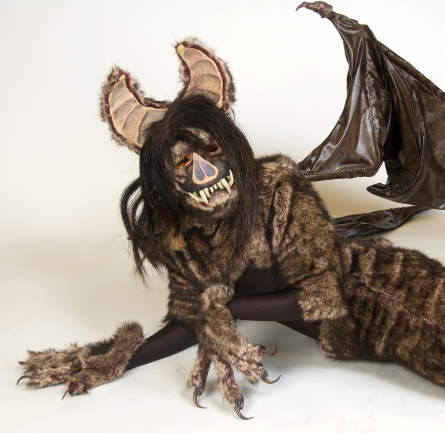 Cieca the Bat Demon: View 3 by MonicaMcClain