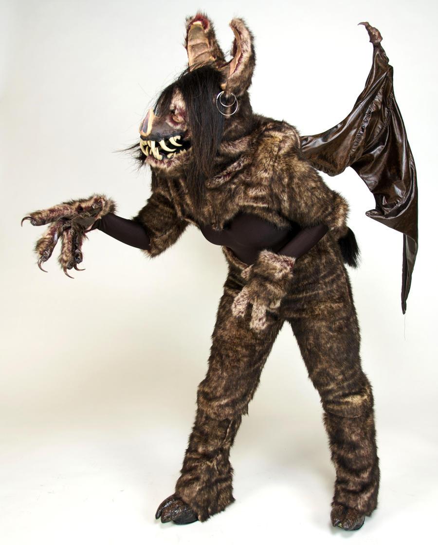 Cieca the Bat Demon: View 4 by MonicaMcClain