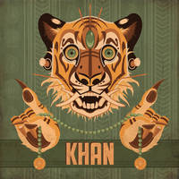 Shere Khan by MonicaMcClain