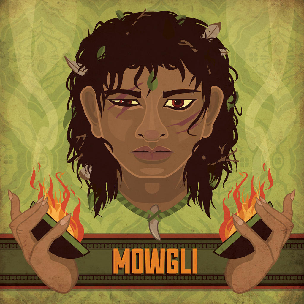 Mowgli by MonicaMcClain