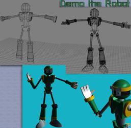 Demo the Robot 3D by Jingleboy