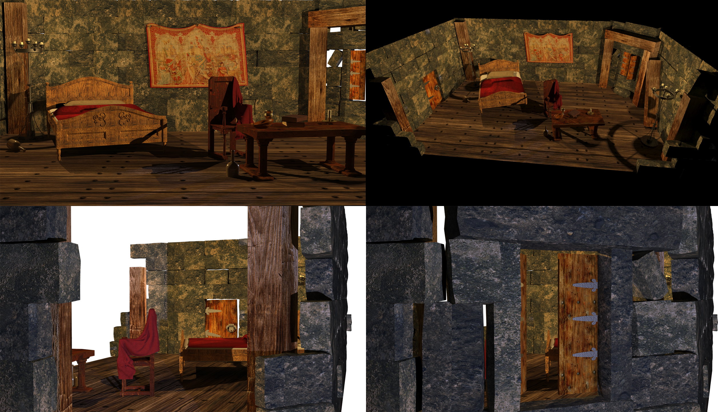 Decayed Castle Room by Jingleboy