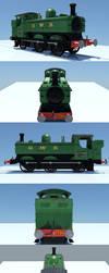 3D: GWR 5700 Class by Jingleboy