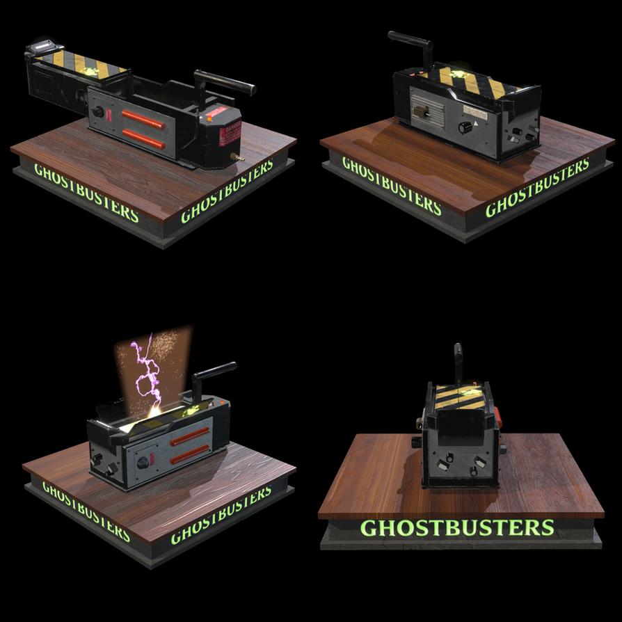 3D Ghost Trap by Jingleboy
