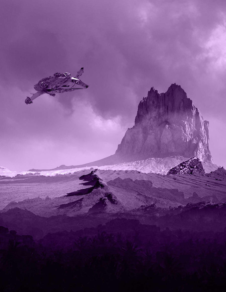 Alien landscape by Sirius4198 on DeviantArt