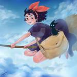 Kiki's Delivery Service Fan Art