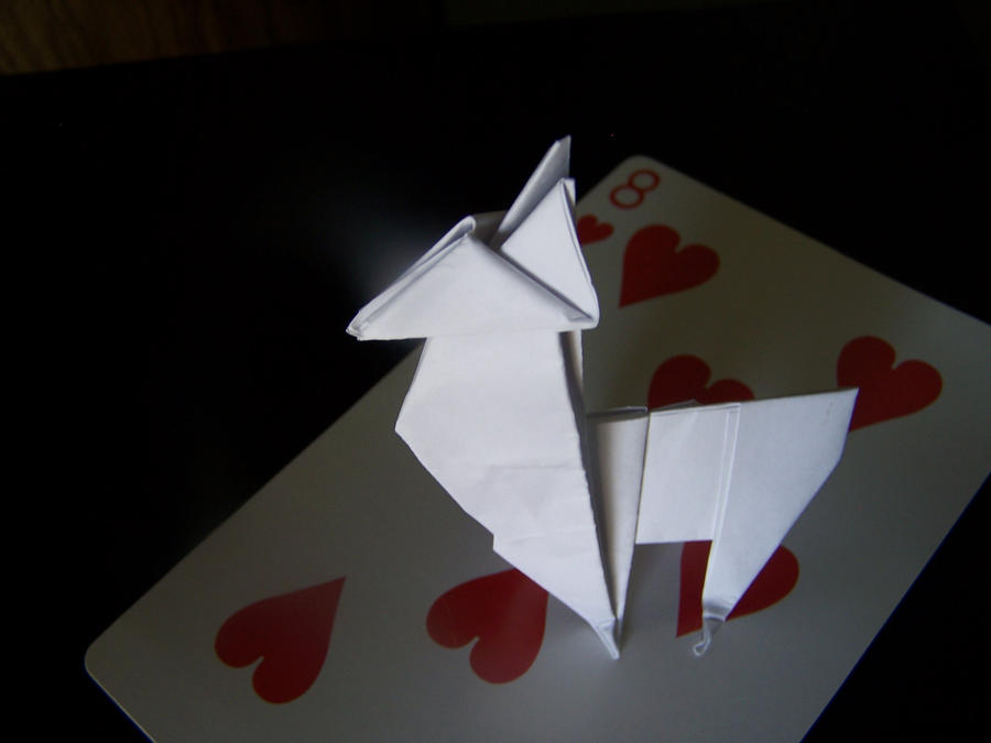 Origami Llama By Samus117 On Deviantart