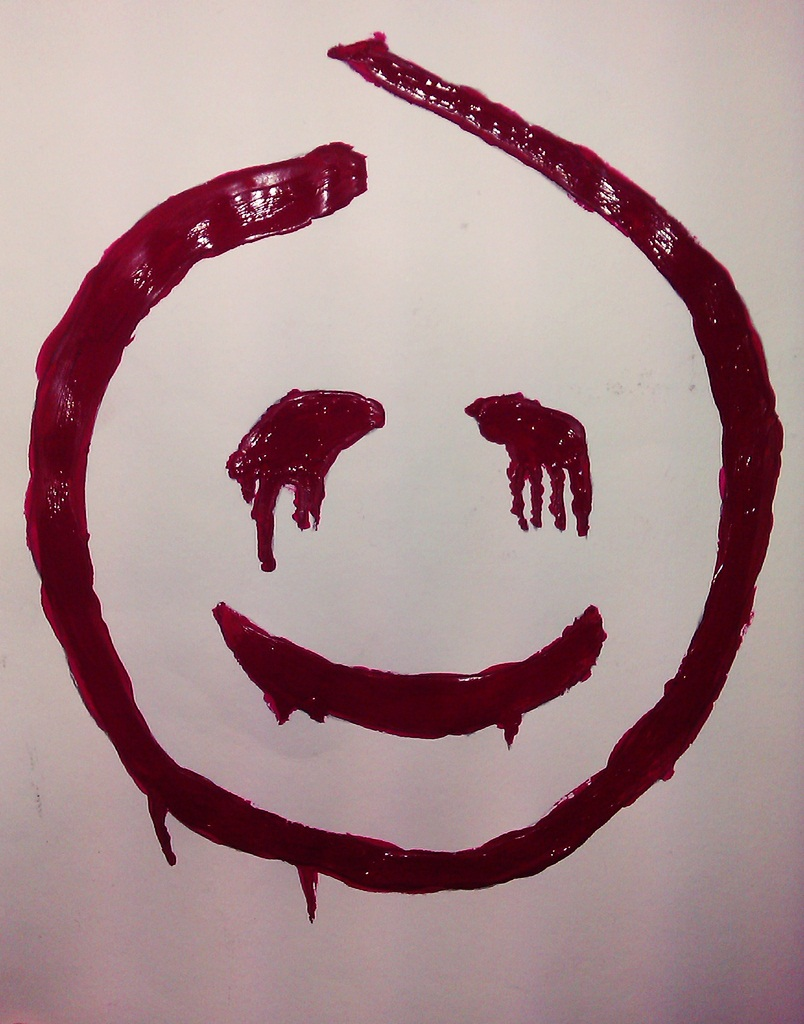 Red John Smiley Face By The One And Only Rdj On Deviantart