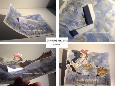 Kiki's Delivry Service -carte