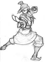 Avatar: Azula by eisu