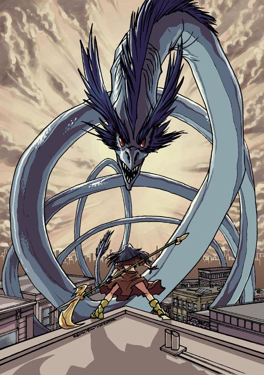 Zinda the Dragonslayer by eisu