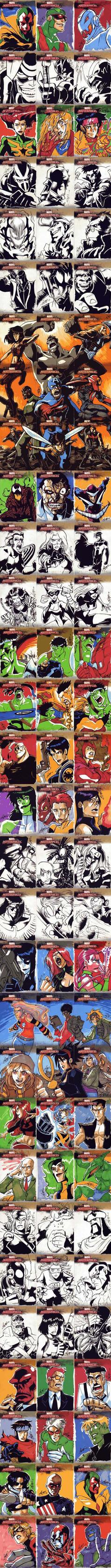 Marvel Sketchcards - 2 of 4 by eisu