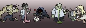 Cute Left 4 Dead Zombies