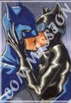Commission - Batman x Catwoman
