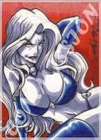Commission - Lady Death by eisu