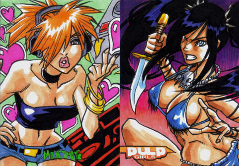 PulpGirls and Mixtape: Preview by eisu