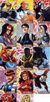 Captain America Sketch Cards 4