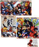 Captain America Sketch Cards 5