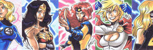 5Finity Superhero for Babies - Superheroines by eisu