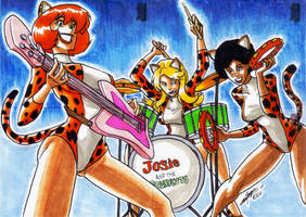 Josie and the Pussycats by eisu