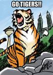 Daily Sketch: Go Tigers