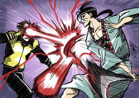 Daily Sketch: Anotsu vs Cyclops