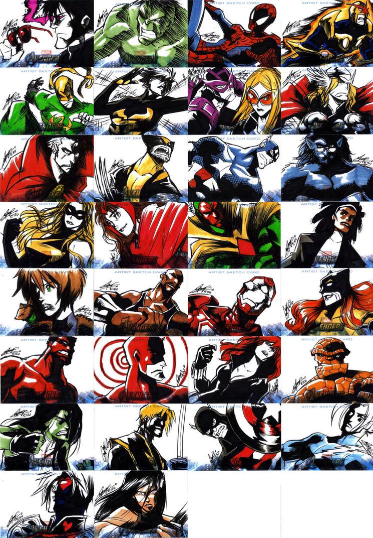 Avengers Assemble 2 by eisu