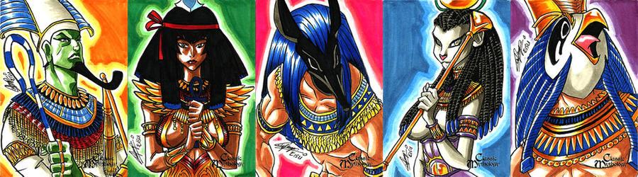 Classic Mythology - Egypt Mythology by eisu