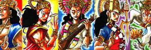Classic Mythology - Hindu Mythology by eisu