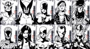 Marvel Beginnings 2 - Black and White