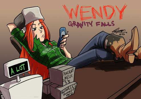 Gravity Falls - Wendy