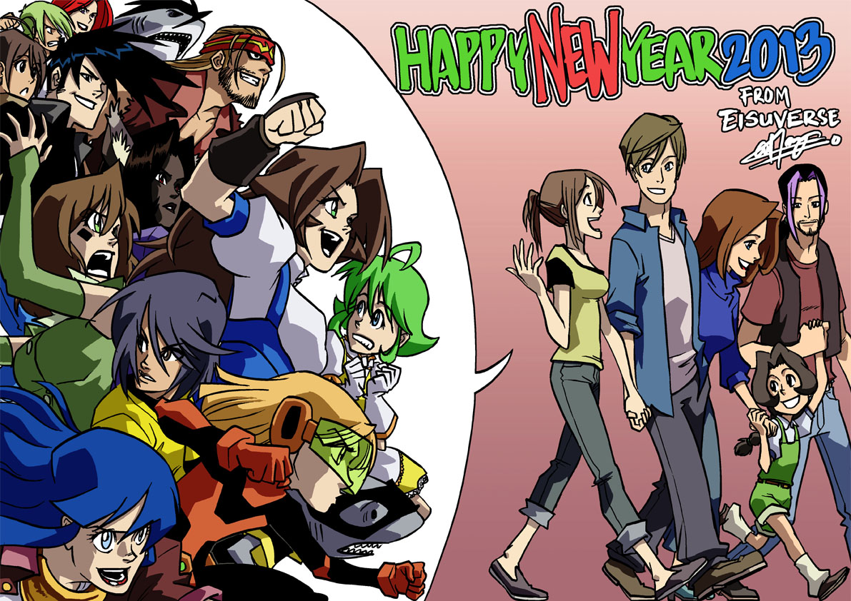 Happy New Year 2013 from Eisuverse