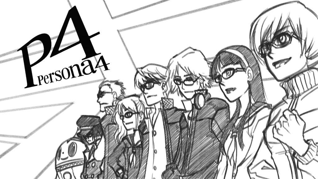 Persona 4 by eisu