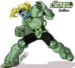 Green Lantern Callies
