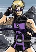 MGHP: Hawkeye by eisu