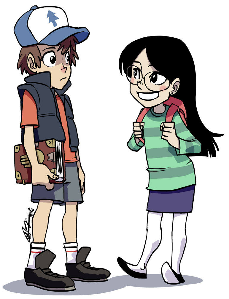 Gravity Falls Dipper And Candy Gravity Falls - Cute Couple by