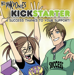 No Pink Ponies Kickstarter Success