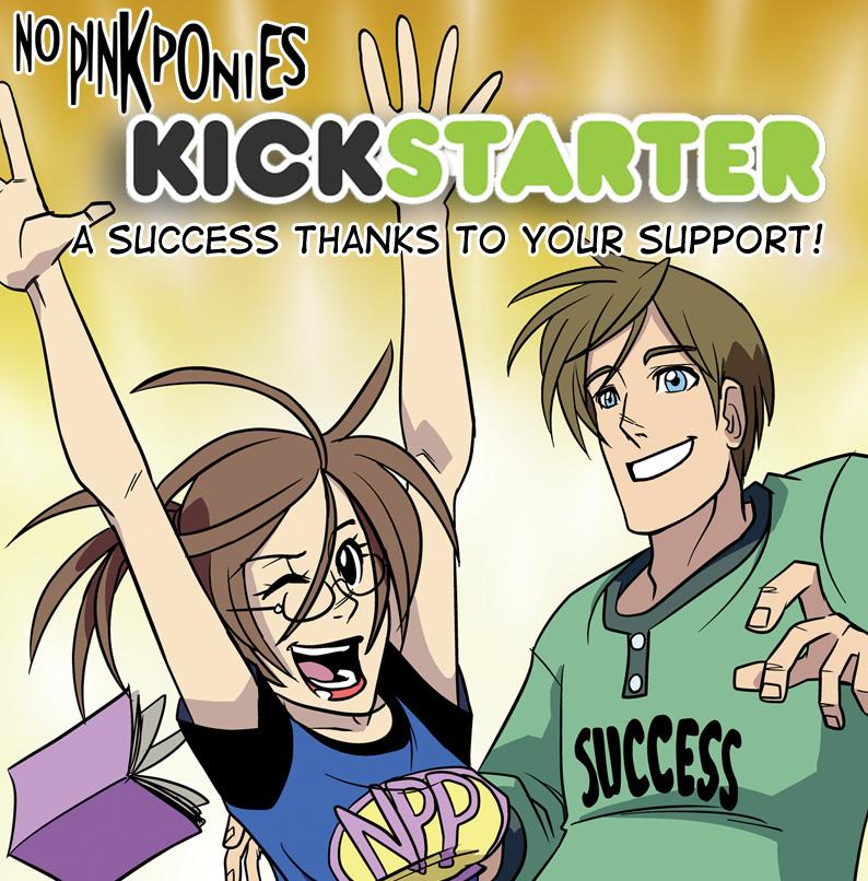 No Pink Ponies Kickstarter Success