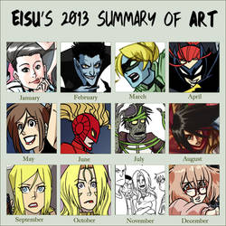 2013 Summary of Art by eisu