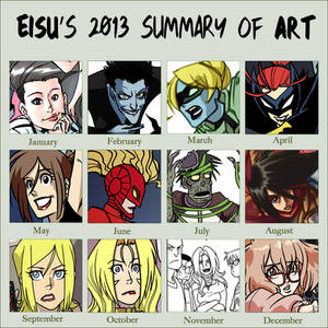 2013 Summary of Art