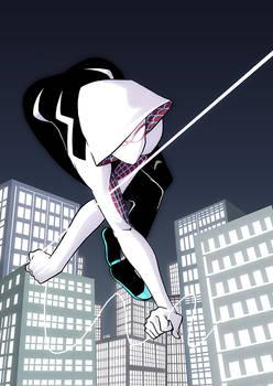 Swinging Spider-Gwen