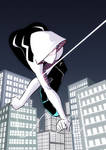 Swinging Spider-Gwen