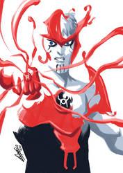 Suit up, Red Lantern! by eisu