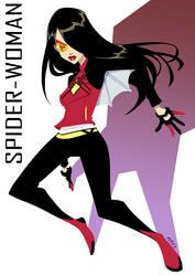 Spider-Woman by eisu