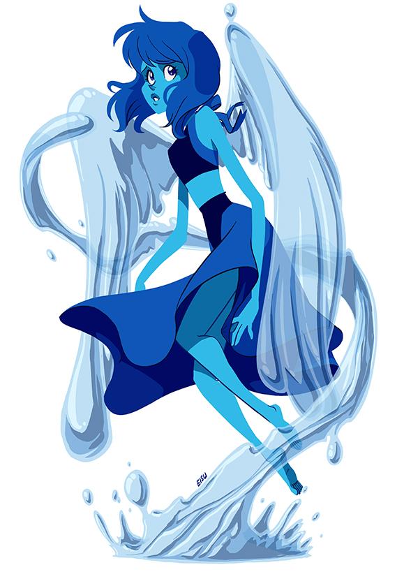 Maiden of the Water by eisu